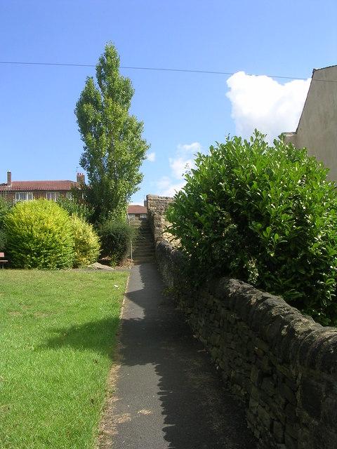 Footpath - Poplar Road