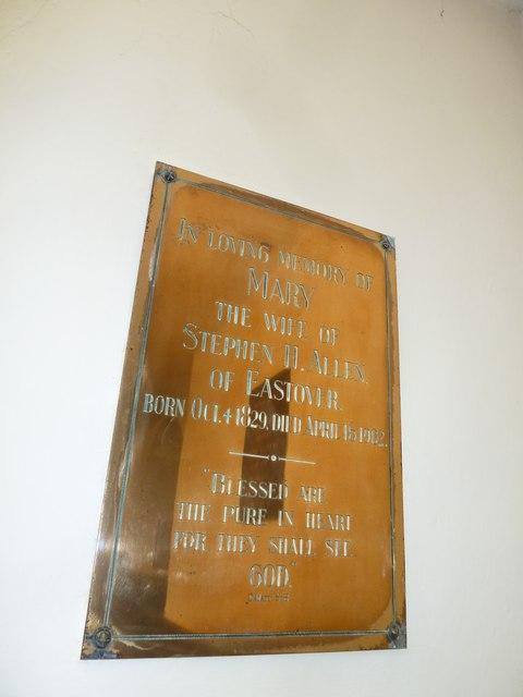 Abbotts Ann - St Mary: memorial (7)