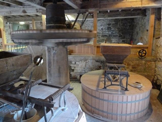 Stone floor - Town Mill, Lyme Regis