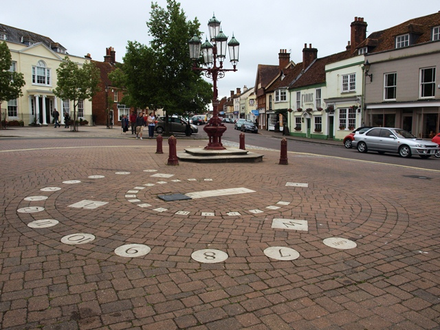 Millennium Sundial in Ringwood Market Place