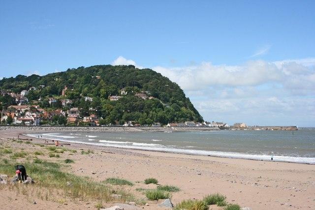 North Hill And Beach, Minehead