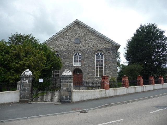 A chapel in Pontrhydfendigaid