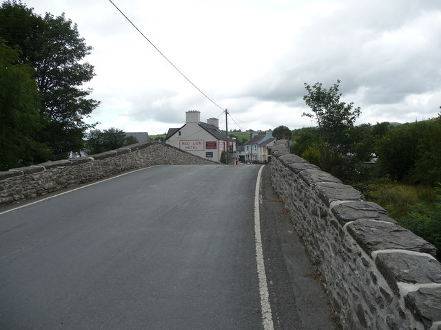 The bridge in Pontrhydfendigaid
