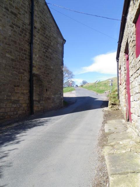 Minor road, Lofthouse