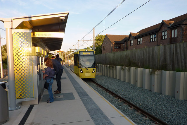 St Werburgh's Road Metrolink station, Chorlton
