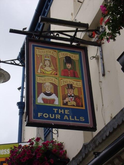 The Four Alls, Caernarfon