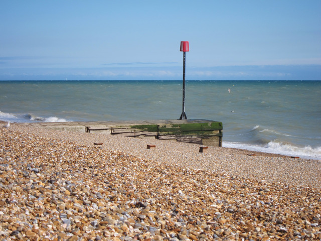 Outfall on Bexhill Beach