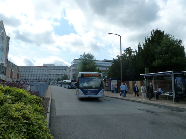 Buses in Friary Way