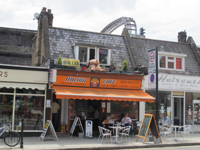 Italian Cafe, Exeter Road, NW2