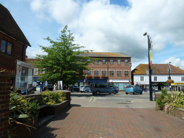 August 2011 in Crawley's historic High Street (a)