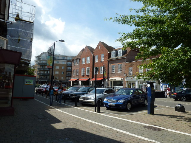 August 2011 in Crawley's historic High Street (b)