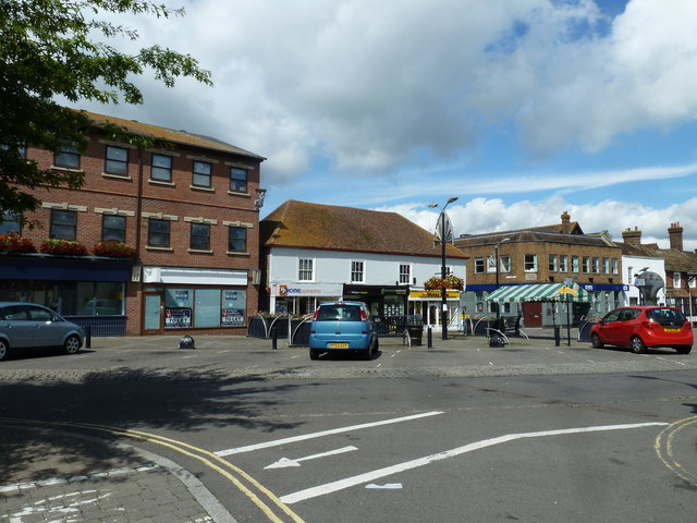 August 2011 in Crawley's historic High Street (c)