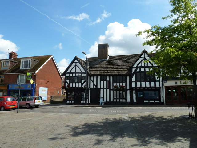 August 2011 in Crawley's historic High Street (g)
