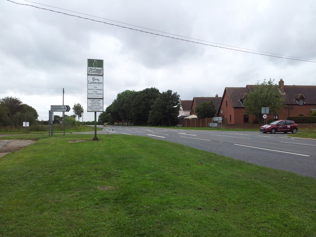 Crossroads on the Roman road