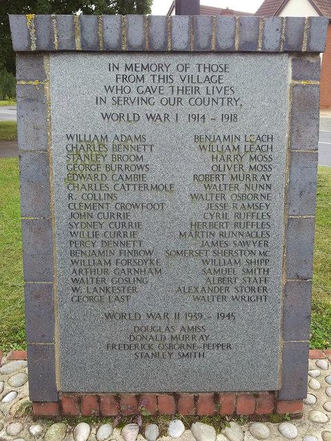 Otley War Memorial