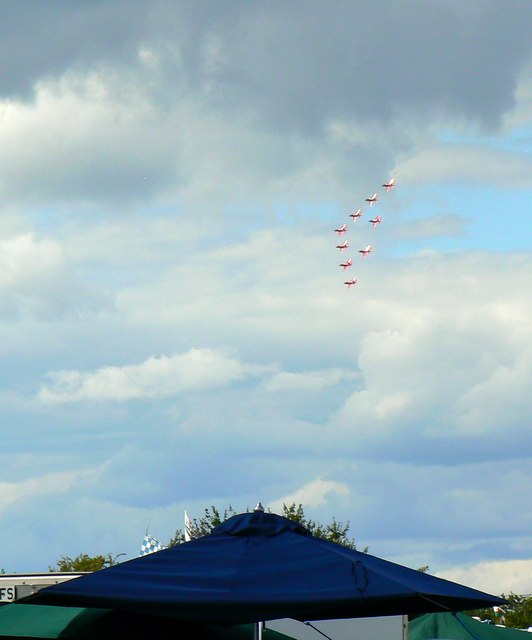 Red Arrows, Swindon and Cricklade Railway, Blunsdon