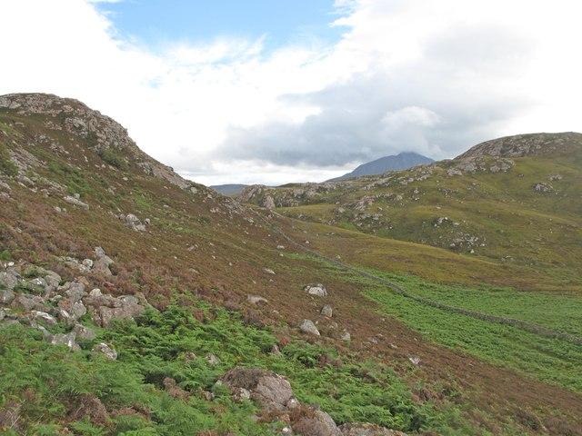 Moorland above Eriboll