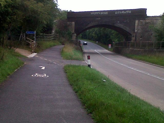Railway bridge near Manton