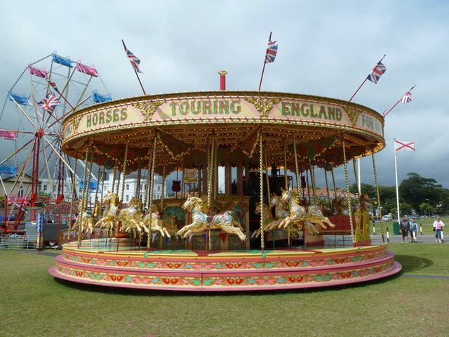 Paignton Regatta - gallopers