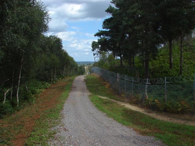 Pirbright Range perimeter road