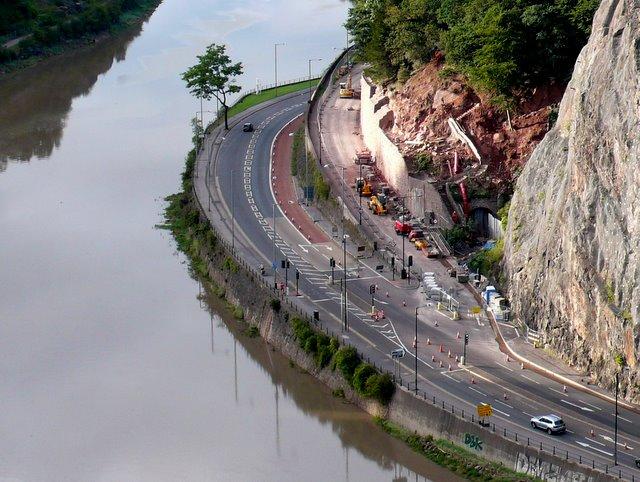 Bridge Valley Road Works