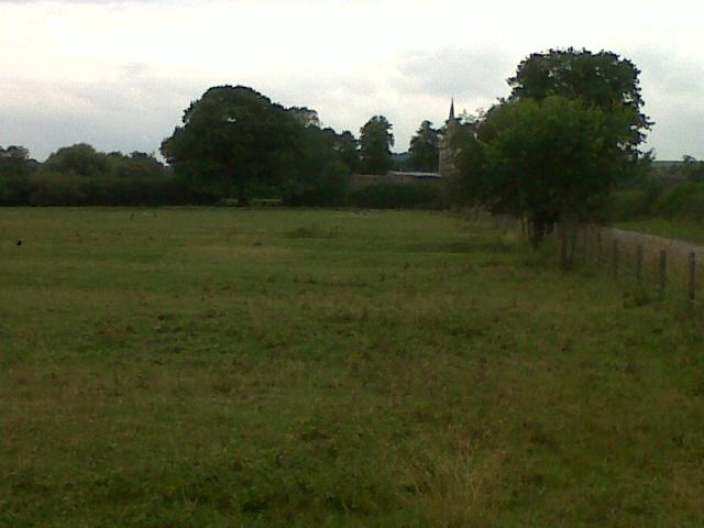 Field north of Egleton village