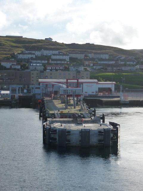 Lerwick: Holmsgarth ferry terminal