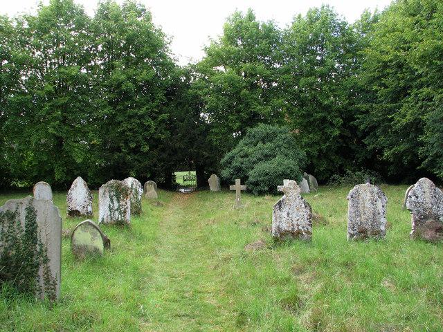 Ashdon churchyard