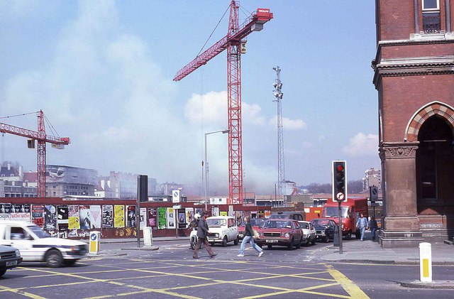 Looking towards Midland Road (1986)