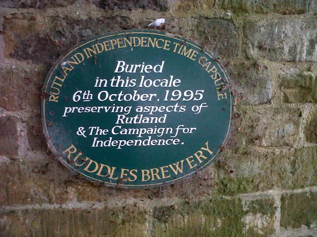 Rutland time capsule