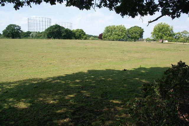 Grazing land near Motspur Park
