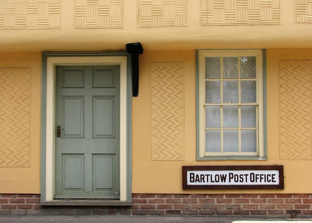 Bartlow: pargetted Post Office