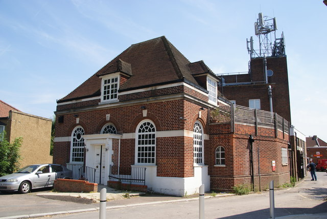 Royal Mail building at Worcester Park