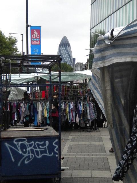 Street market, Whitechapel Road E1