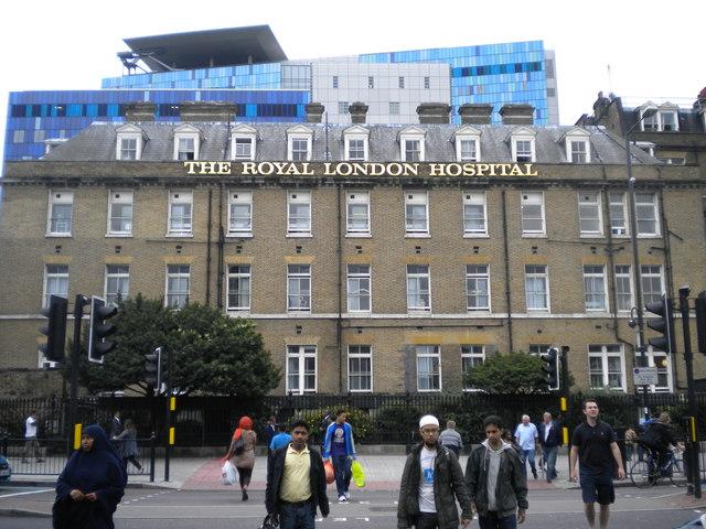 The Royal London Hospital, Whitechapel Road E1
