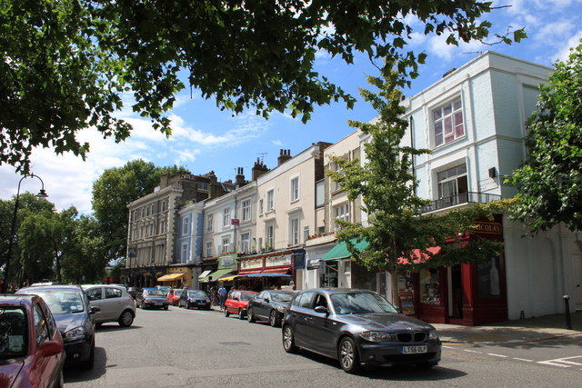 Regent's Park Road in Primrose Hill