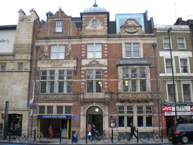 Whitechapel Gallery, Whitechapel High Street E1