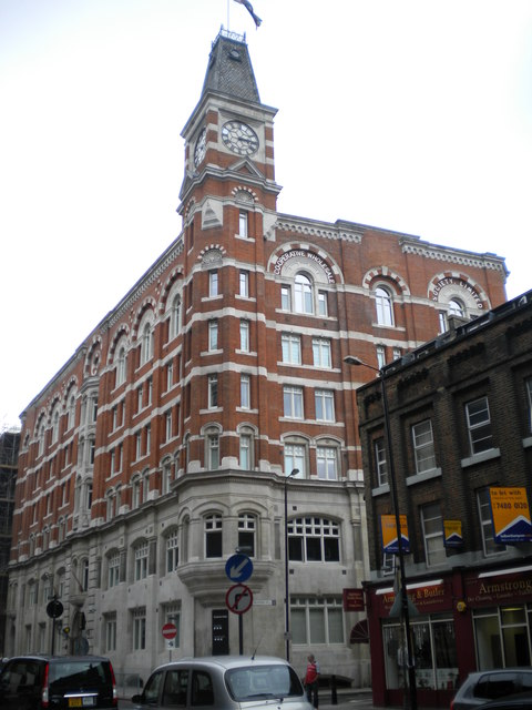 Co-op Building, Leman Street E1