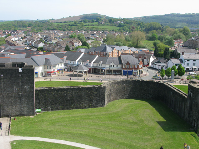 A view of Castle Street from the castle