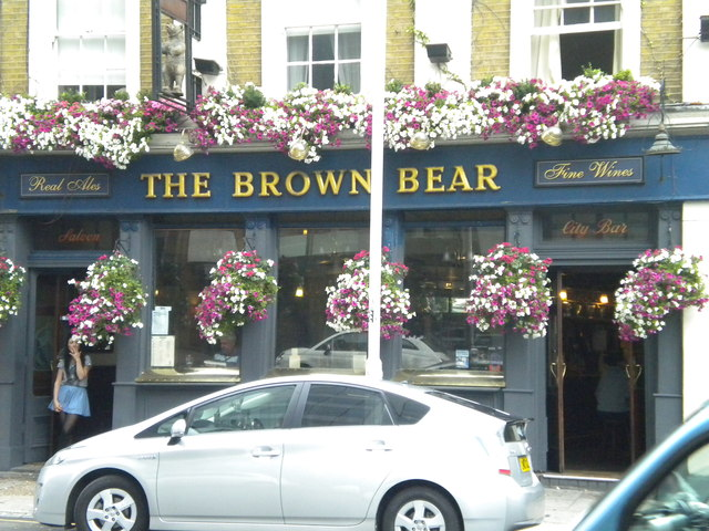 The Brown Bear, Leman Street E1