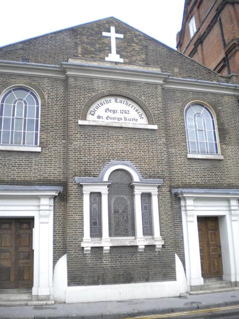 St George's Lutheran Church, Alie Street E1