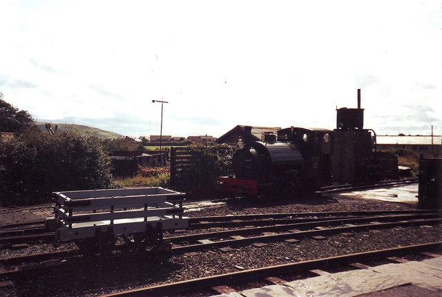 Tywyn Railway Station on the Talyllyn Railway