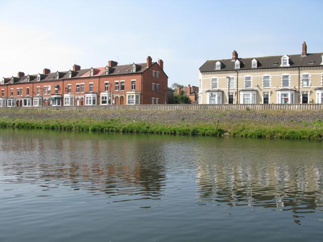 Houses on Coldstream Terrace, Riverside