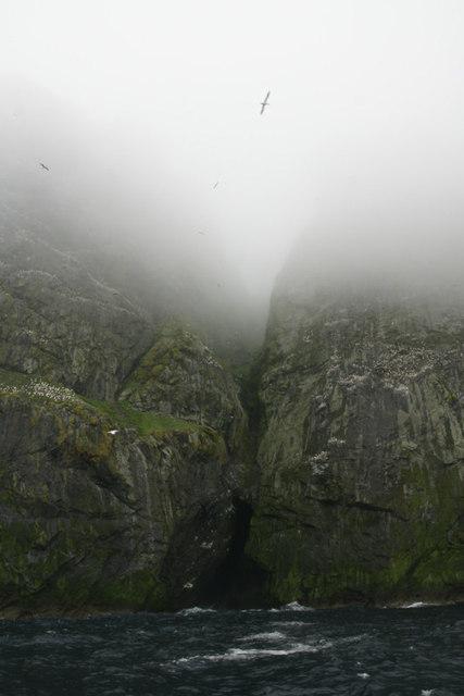 Geodha na Tarnanach, Boreray, St Kilda