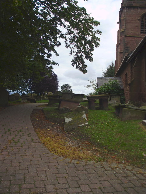 Path to St Michael's Church, Shotwick