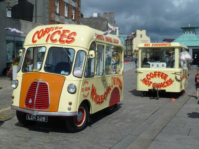 Stop me and buy one, Barbican, Plymouth