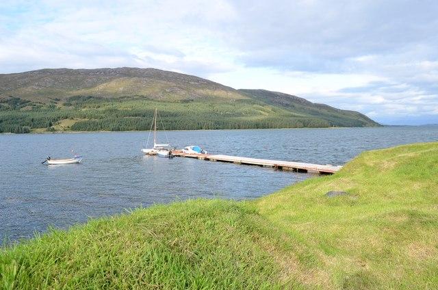 Loch na Cairidh at Strollamus