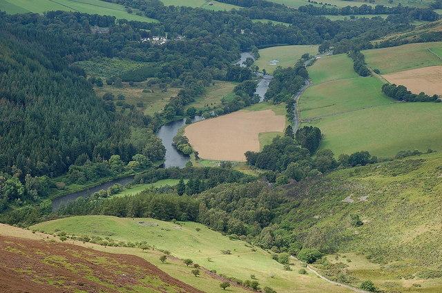 River Tweed near Caddonfoot