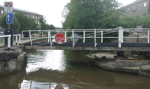 Brewery Swing Bridge, Skipton