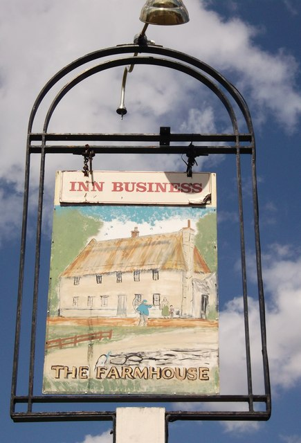 The Farmhouse Pub Sign